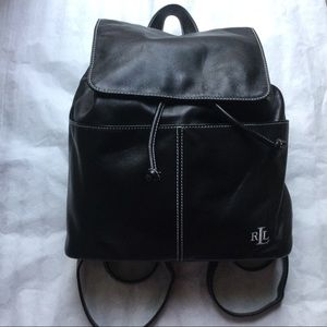 Ralph Lauren black back pack